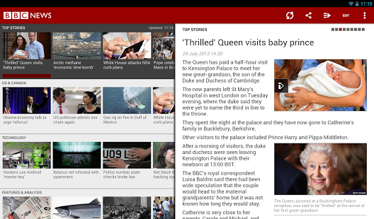 Top 5 Best News Apps On Android BBC News